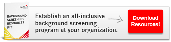 All-Inclusive Background Screening Program