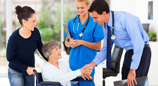 Customer Service and Loyalty in Medical Staff Services