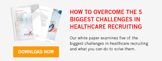 PreCheck How To Overcome the 5 Biggest Challenges in Healthcare Recruiting