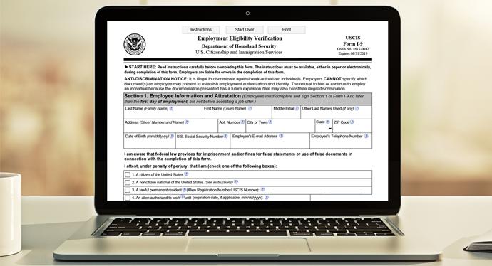 Form I-9 and E-Verify, Human Resources