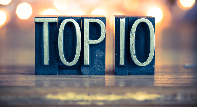 Top 10 Healthcare & Compliance Blog Posts from 2016