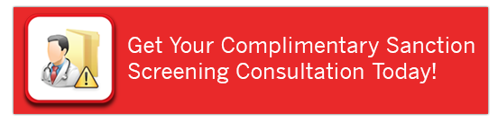 Get Your Complimentary Sanction Screening Consultation Today!