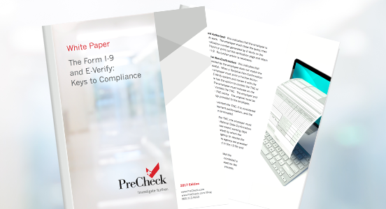 [White Paper] Form I-9 and E-Verify Best Practices for Compliance