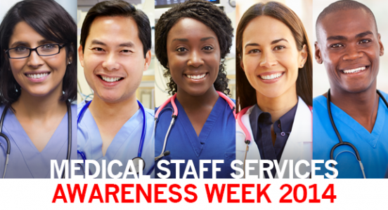 Celebrating Medical Staff Services Awareness Week 2014 with Dionne Austin, CPCS
