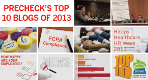 PreCheck's Top 10 Healthcare & Compliance Blog Posts in 2013
